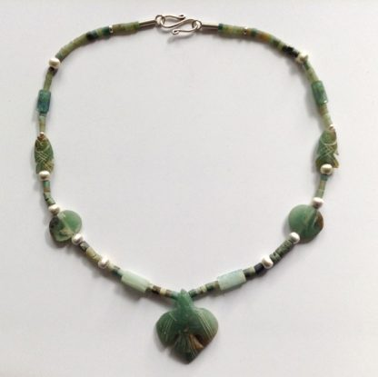 Green bird Necklace