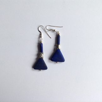 Lapis x earrings