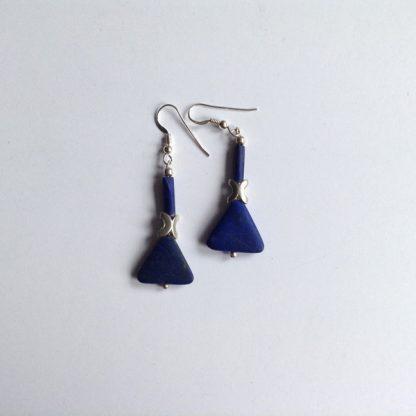 Lapis x earrings
